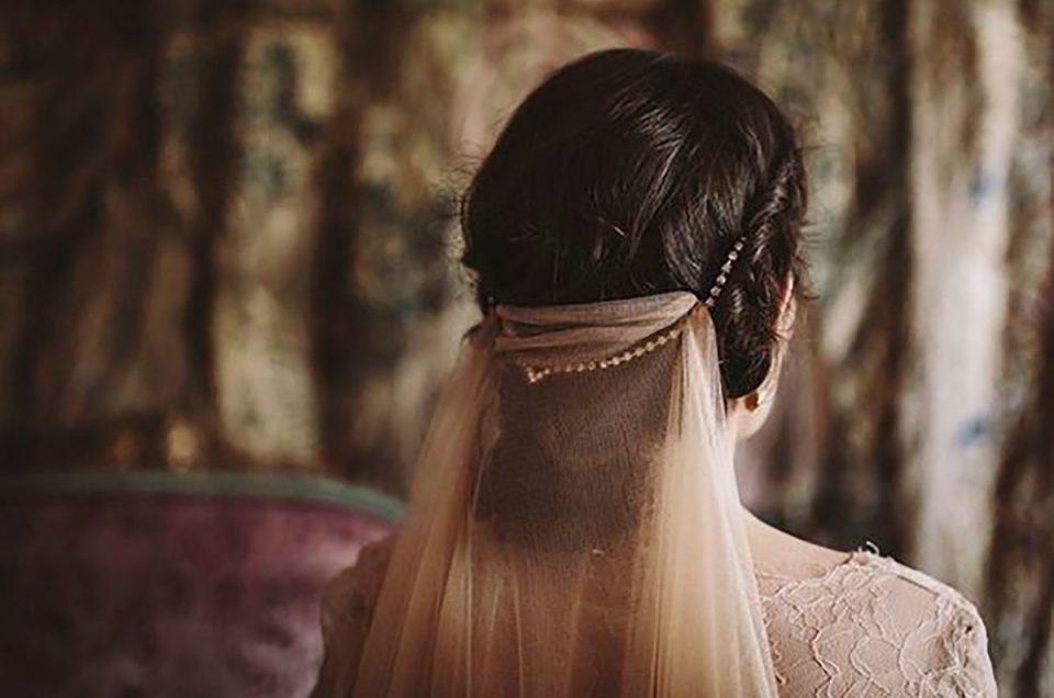 La historia detrás del velo de novia