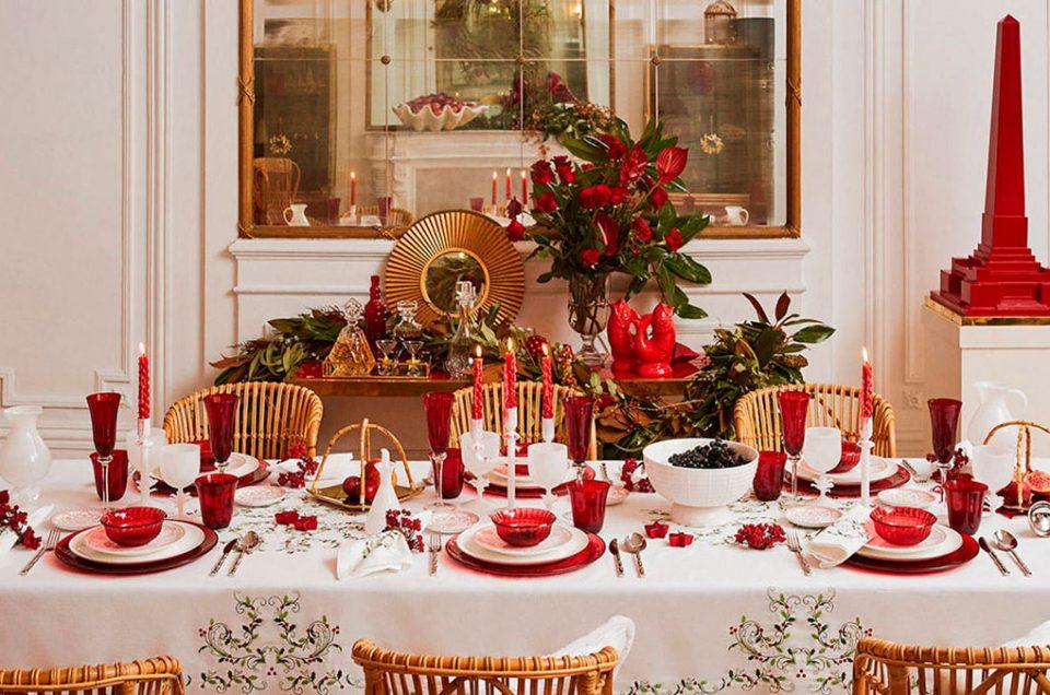 Ideas para la decoración de tu mesa navideña